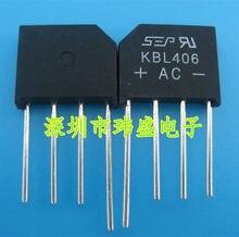 10pcs KBL406 4A600V