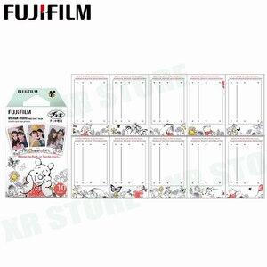 Image 2 - Fujifilm Instax Mini Film 11 8 9 Film 10 Sheet Mini Instant Photo Paper for Camera Instax Mini7s 50s 90 Blue Black Airmail