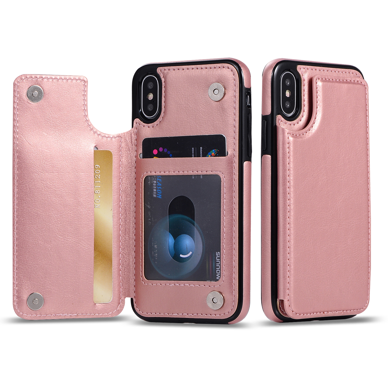 Crazy Horse Leather Case For iPhone 11 Pro Max 11 Pro 11 Dual Layer Flip Card Slots Case For iPhone XS Max XR XS X 7 8 6 6S Plus in Wallet Cases from Cellphones Telecommunications