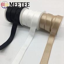 Meetee 10/20/50 metre 10/15/18mm naylon elastik bant iç çamaşırı omuz askısı sutyen kemer DIY konfeksiyon lastik bant aksesuarları