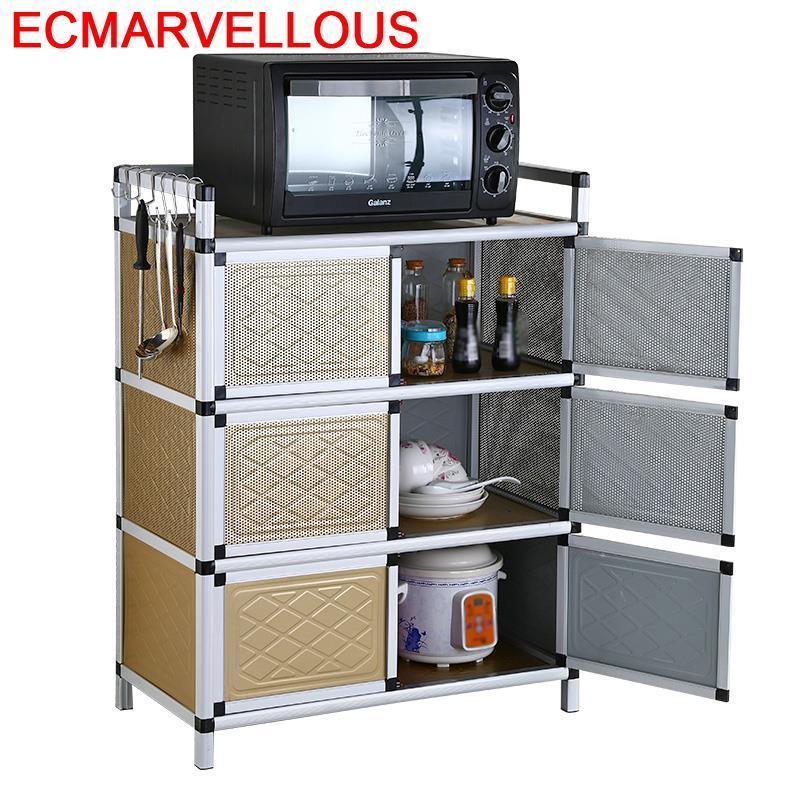 Moveis Sala De Jantar Aparadores Mobiliario Meuble Buffet Aluminum Alloy Kitchen Furniture Mueble Cocina Cupboard Sideboard