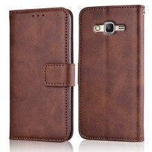 Grand Prime Fall Dünne Leder Flip-Cover für Samsung Galaxy Groß Prime VE G530 G531 G530H G531H Fall Brieftasche Magnetische fall