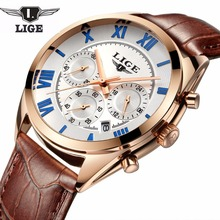 2020 LIGE Fashion sport Mens Watches Top