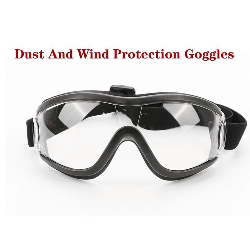 Anti-fog And Dust-proof Anti-droplets Adjustable Glasses Unisex Hd Saliva Goggles Windproof Glasses