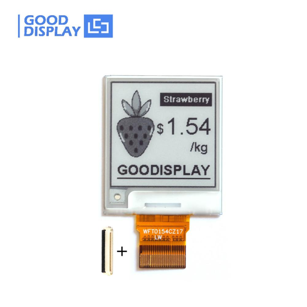 E-paper Display 1.54inch 152x152 SPI Interface 4 Grayscale Eink Display