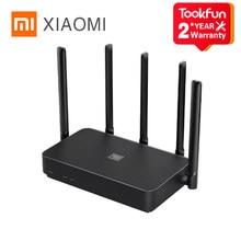 Xiaomi routeur 4 PRO 1317Mbps 2.4G / 5G double fréquence sans fil Wifi 5 antennes à Gain élevé Wifi répéteur amplificateur de Signal externe