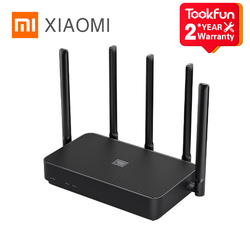 Xiaomi Router 4 PRO 1317Mbps 2.4G / 5G Dual Frequency Wireless Wifi 5 High-Gain Antennas Wifi Repeater External Signal Amplifier
