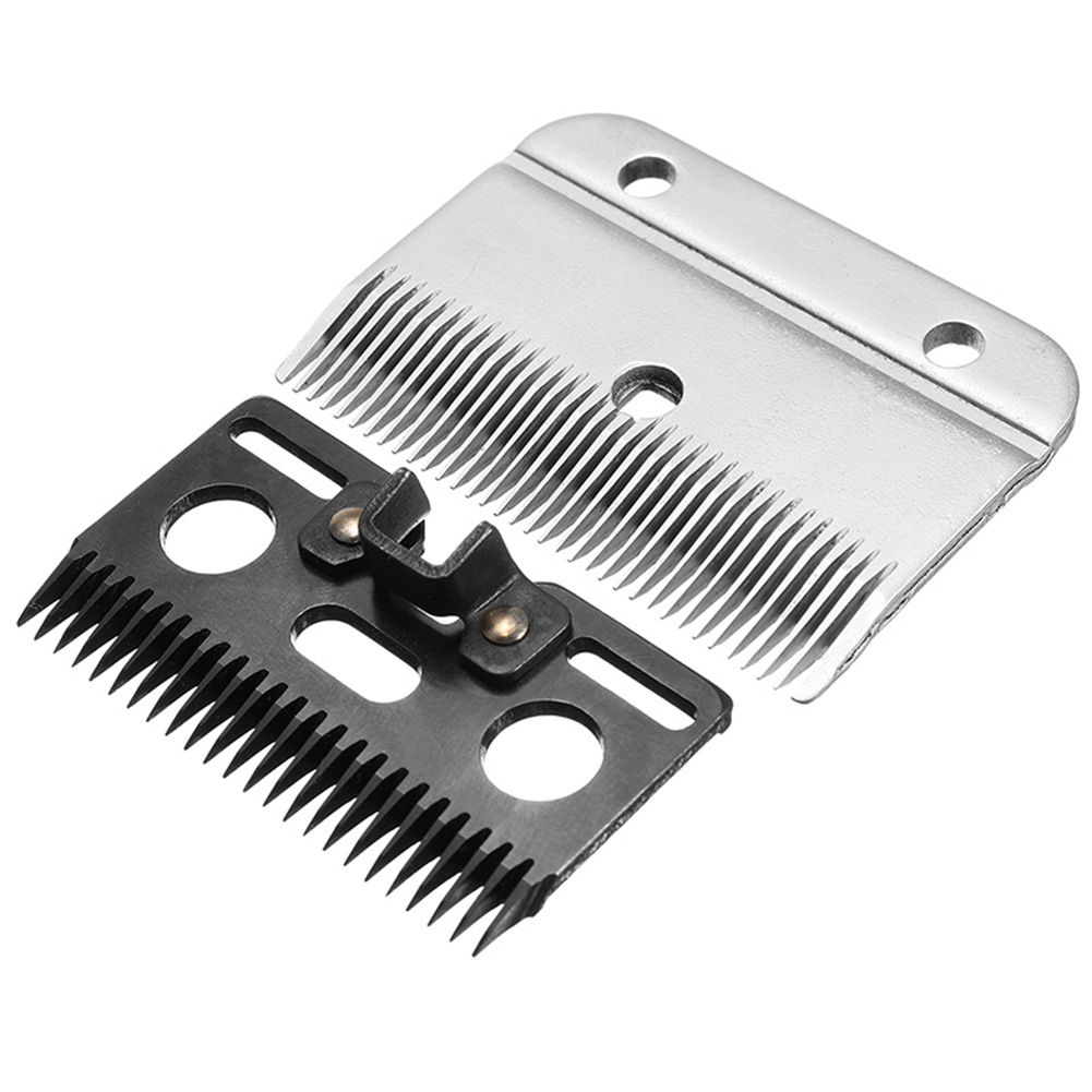 Newly 2 Pcs Medium Horse Hair Clipper Cutter Clipping Compatible Wolseley Liscop Liveryman