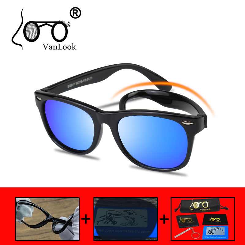 Fashion Kids UV400 Polarized Sunglasses Children Outdoor Eyewear For Boys Girls