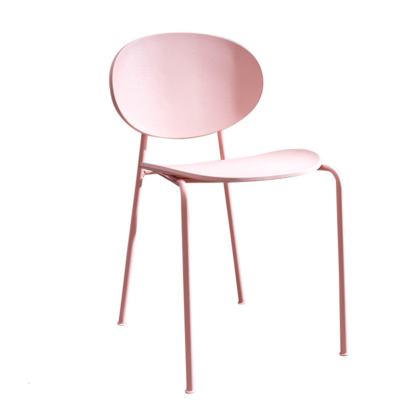 Chair Home Simple Lazy Plastic Stool Chair Nordic Leisure Chair To Discuss Dining Chairs