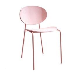 Krzesło domowe proste leniwy stołek plastikowy krzesło Nordic fotel wypoczynkowy do omówienia krzesła do jadalni na
