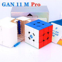 GAN11 M Pro manyetik 3x3x3 sihirli küpler 3x3 hız küp GAN 11 M Pro cubo magico Gans 3x3x3 küp bulmaca GAN11M