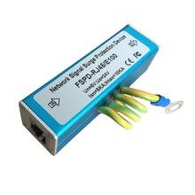 Сетевой стабилизатор напряжения YiiSPO RJ45, защита от вспышки, молниеотвод для 100 Мбит/с Ethernet/IP камеры