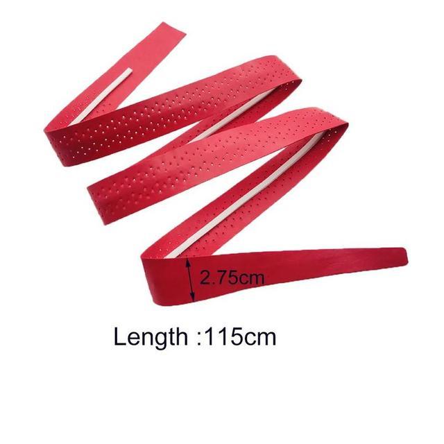 1pcs Tennis Racket Sweat Band Anti-slip Breathable Sweat Badminton Fishing Tape Belt Rod Sport Racket Overgrips Absorption P1E0 5