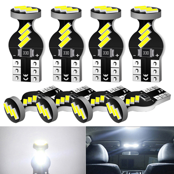 A Pack Canbus T10 W5W LED Car Interior Bulbs For BMW E46 E39 E90 E60 E36 F30 F10 E30 E34 X5 E53 M F20 X3 E87 E70 E92 X1 M3 image