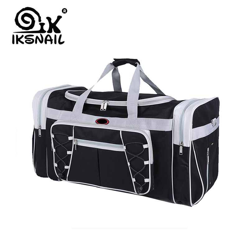 IKSNAIL Hot Waterproof Large Capacity Sports Gym Bag Outdoor Multifunction Sporting Travel Handbag Training Duffle Bags