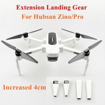 Zestaw do lądowania składana wysokość nogi do lądowania wsparcie stopy przedłużenie nogi Protector dla Hubsan ZINO H117S Pro RC Drone akcesoria tanie i dobre opinie Drone pudełka Extension Landing Gear