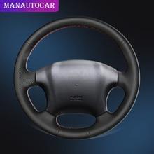 Car Braid On The Steering Wheel Cover for Hyundai Tucson 2005 2006 2007 2008 2009 2006-2014 Auto Car-styling Interior Accessorie свободное слово интеллектуальная хроника альманах 2006 2007