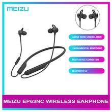 מקורי Meizu EP63NC אלחוטי אוזניות Bluetooth 5.0 ספורט אוזניות סטריאו אוזניות IPX5 עמיד למים אוזניות עם מיקרופון apt x