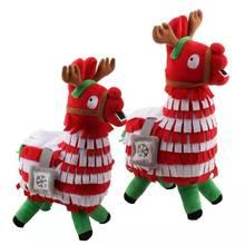 купить 25/35/55cm Cute Plush Toy Stuffed Doll Party Decor Fortress Night Alpaca Christmas Plush Doll Movie Dolls Kids Birthday Gift дешево