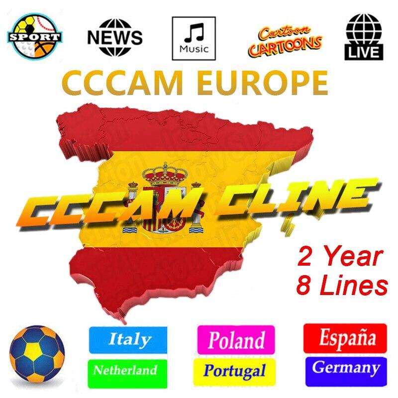 OSCAM Germany Cccam cline for 1 year Europe CCCAM Spain