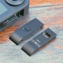 1pc バッテリーカバーカメラ充電ポート側移動プロ最大アクションカメラアクセサリー