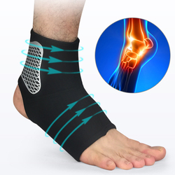 1PCS Ankle Support Brace Elastic Ankle Brace Protector Foot Bandage Running Sport Fitness Guard Band Anti Sprain Ankle Protector