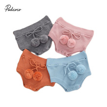 Shorts Bottoms Knited Baby-Girls Infant New Winter Cute Autumn 0-18M Plush-Ball Triangle
