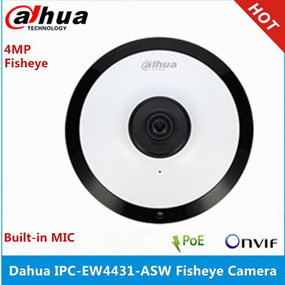 Dahua IPC EW4431 ASW Panorama 180 stopni wbudowany mikrofon i gniazdo kart sd i dźwięk i Alarm interfejs POE WIFI 4MP kamera szerokokątna w Kamery nadzoru od Bezpieczeństwo i ochrona na AliExpress - 11.11_Double 11Singles' Day 1