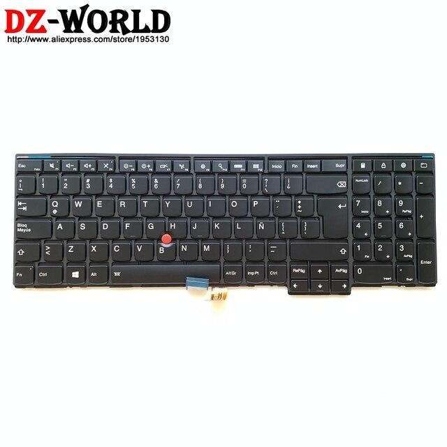 새로운/orig las 라틴어 백라이트 키보드 thinkpadt540p w540 w541 t550 w550s t560 p50s 노트북 백라이트 teclado 04y2468 04y2390