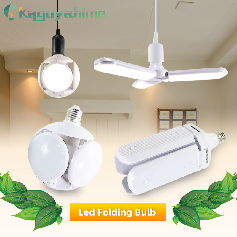 Kaguyahime LED E27 Bulb 40W Football Bulb AC 85-265V LED Bombilla Spotlight Lampada UFO Lamp LED Light For Home Folding Bulb