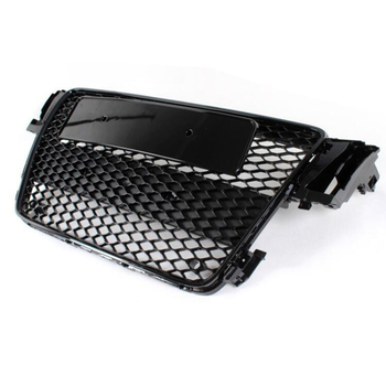 Auto Styling 2008 ~ 2011 A5 RS5 Stijl Alle Zwart Voorbumper Mesh Grill Grille Voor Audi A5