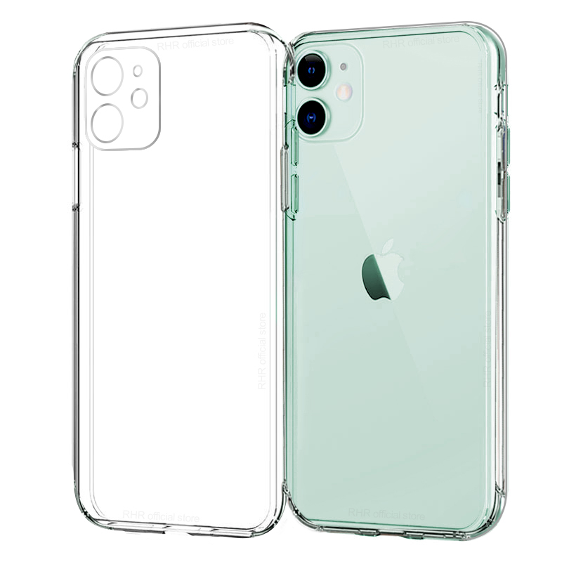 Lens Protection Clear Phone Case For iPhone 11 pro max Case Silicone Soft Cover For iPhone XR XS Max X 8 7 6s Plus 5 SE 11 Case