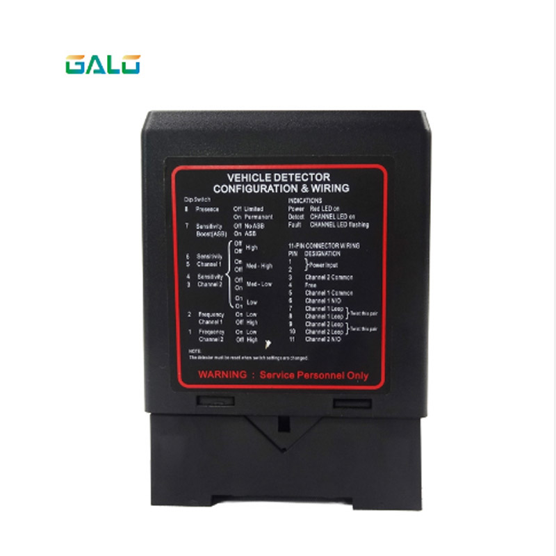 PD232 Traffic Inductive Single Channel Vehicle Loop Detector For Vehicle Access Loop Detector Vehicle Traffic Detector Anti-rada