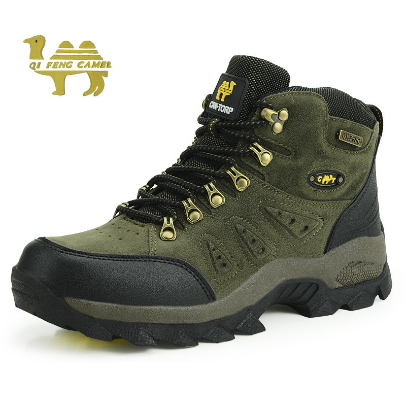Men's women's rubber military and tactical hunting boots  on sale mountain hiking climb shoes ankle outdoor man sport sneakers for hiking jungle
