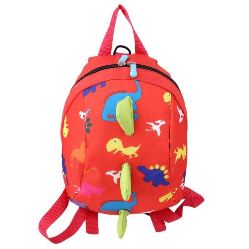 Dinossauro impressão mochila para meninos meninas crianças mochilas crianças do jardim de infância pequeno sacos de escola animais mochila moda