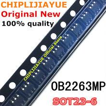 10 pces ob2263mp SOT23-6 ob2263 ob2263amp sot-23-6 sot smd novo e original ic chipset