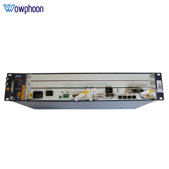 Original fibra olt ZTE ZXA10 C320 OLT, SMXA Card*1PCS with PRAM card, AC+DC power supply, support GPON and EPON card