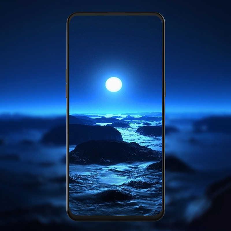 Exunton para samsung galaxy s10e cobertura completa matte anti nenhum brilho da impressão digital protetor de tela de vidro temperado fosco filme 9 h