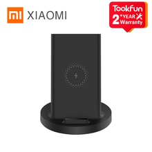 XIAOMI Vertical Wireless Charger Universal Quick Charge 20W Compatible Multiple Inductive Charging Suitable For Apple Samsung