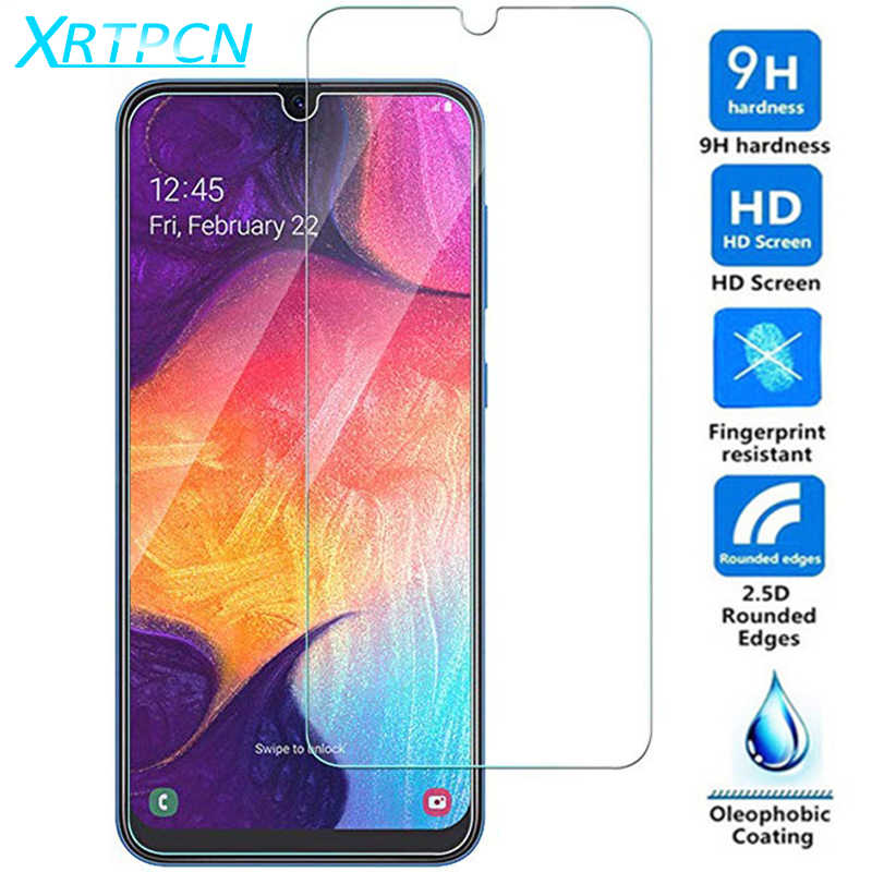 9H Tempered Glass For Samsung Galaxy A30 A50 A10 A20 A20E A40 A40S A60 A70 A80 A90 M20 M10 M30 Screen Protector Film Protective