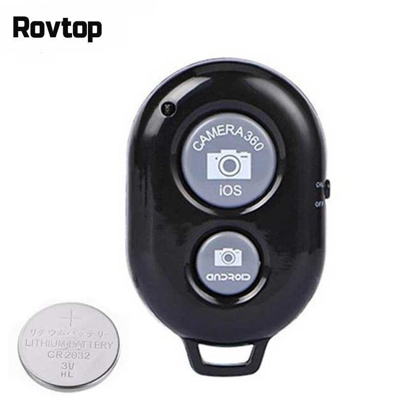 Bluetooth беспроводной пульт дистанционного спуска затвора для камеры телефона, монопод, палка для селфи с затвором, таймер, пульт дистанционно...