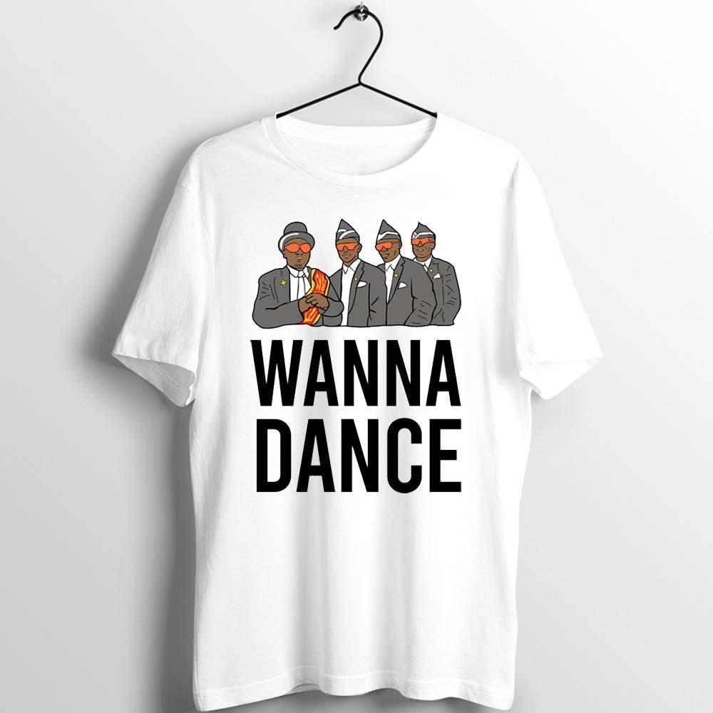 Unix Basic T Shirt Men Women Coffin Dance Coffin Dance Ghana Dancing Pallbearers Awesome Cartoon Printed Tee Aesthetic Clothes