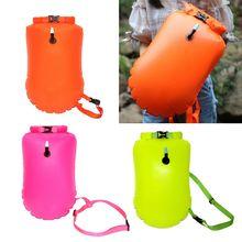 New 20L Inflatable Waterproof Dry Bag Swimming Bag Rafting Kayaking Storage Bag Buoy 27RD tuban waterproof storage bag for swimming