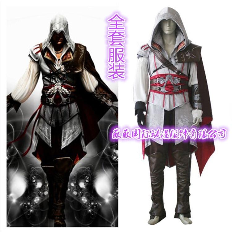 Us 30 39 24 Off Game Characters Ezio Auditore Cosplay Costume Kids Men Clothes Sets Ezio Enfant Halloween Costume Cosplay Ezio Auditore Shoes In
