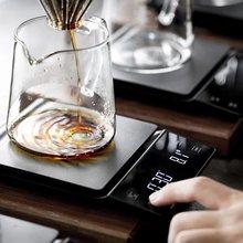 Ручной капельного Кофе весы 01g/3 кг точность датчика Кухня