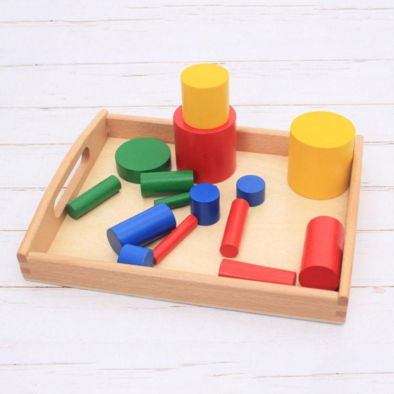 criancas brinquedo bandeja de madeira organizador cedo ajuda de ensino bom habito treinamento presente do bebe