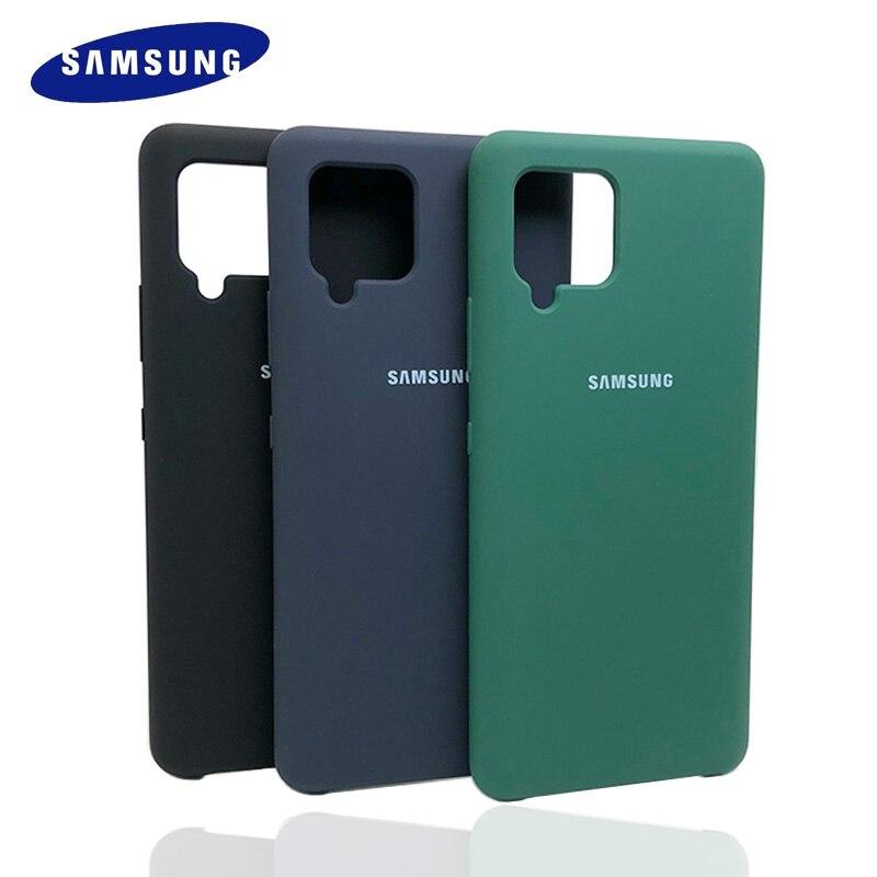 Чехол для Samsung Galaxy A42 5G мягкая задняя защитная оболочка шелковистый силиконовый чехол для мобильных телефонов
