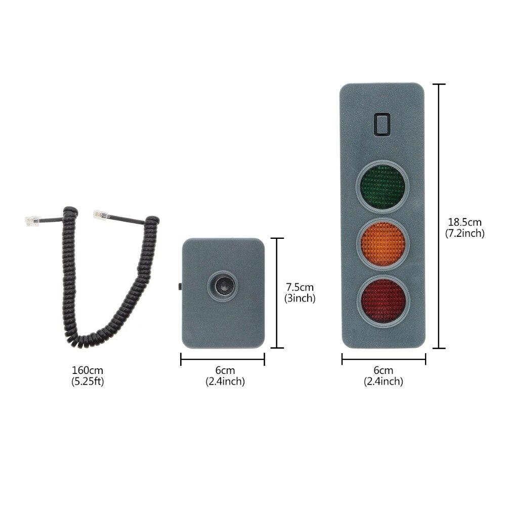 Car Park Assist Sensor System Smart Parking Aid Gadget Safe Light Parking System Assist Distance Stop Aid Guide Sensor for Home Garage Mrcartool Parking Aid System for Garage