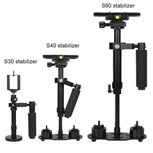 Buy 30 40 60 CM Aluminum Handheld Camera Mobile Phone S30 S40 S60 Stabilizer for Camcorder iphone8X Redmi7 Canon/Nikon/Sony/Minolta directly from merchant!